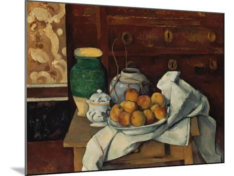 Still Life, about 1885-Paul C?zanne-Mounted Giclee Print