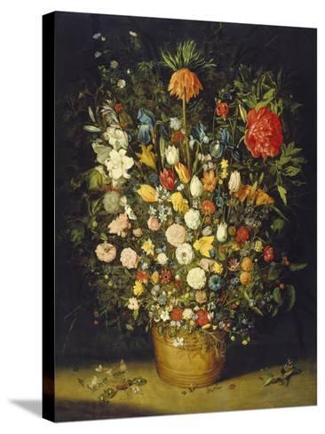 Blumenstrauss. Nach 1607-Jan Brueghel the Elder-Stretched Canvas Print