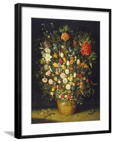 Blumenstrauss. Nach 1607-Jan Brueghel the Elder-Framed Art Print
