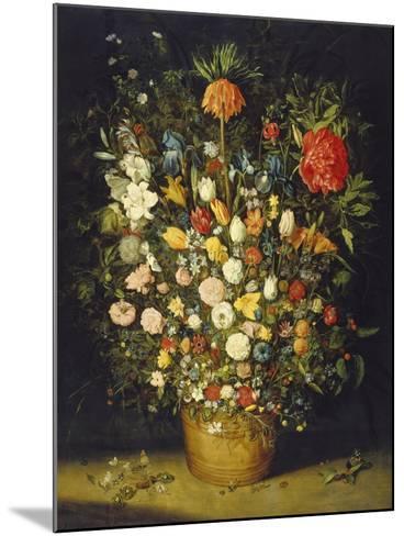 Blumenstrauss. Nach 1607-Jan Brueghel the Elder-Mounted Giclee Print