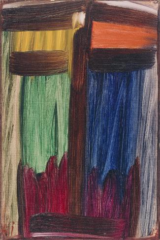 Meditation, 1937-Alexej Von Jawlensky-Stretched Canvas Print