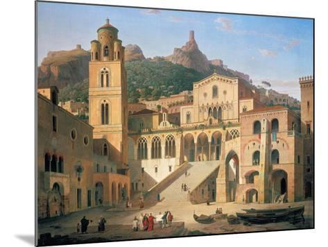 Der Domplatz Von Amalfi, 1859-Leo Von Klenze-Mounted Giclee Print
