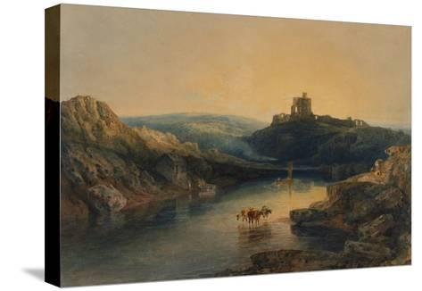 Norham Castle: Morning-J^ M^ W^ Turner-Stretched Canvas Print