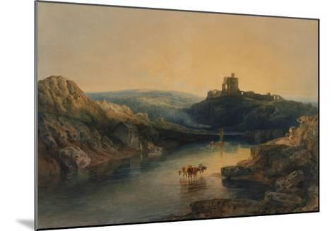 Norham Castle: Morning-J^ M^ W^ Turner-Mounted Giclee Print
