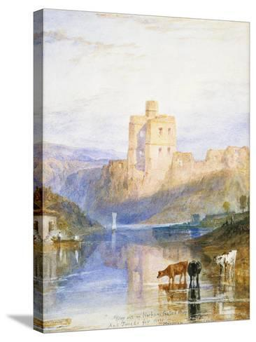 Norham Castle: an Illustration to Sir Walter Scott's Marmion, 1818-J^ M^ W^ Turner-Stretched Canvas Print