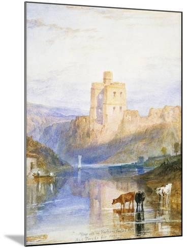 Norham Castle: an Illustration to Sir Walter Scott's Marmion, 1818-J^ M^ W^ Turner-Mounted Giclee Print