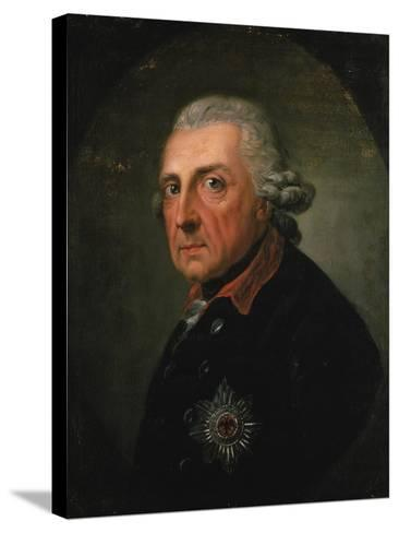 Frederick Ii (The Great) of Prussia, 1781-Anton Graff-Stretched Canvas Print