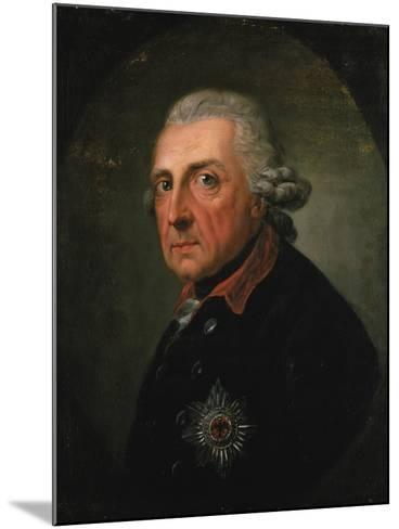 Frederick Ii (The Great) of Prussia, 1781-Anton Graff-Mounted Giclee Print