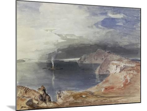 Santorini, 1845-Carl Rottmann-Mounted Giclee Print