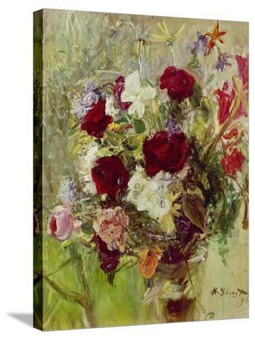 Bouquet of Flowers, 1896-Max Slevogt-Stretched Canvas Print