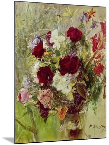 Bouquet of Flowers, 1896-Max Slevogt-Mounted Giclee Print