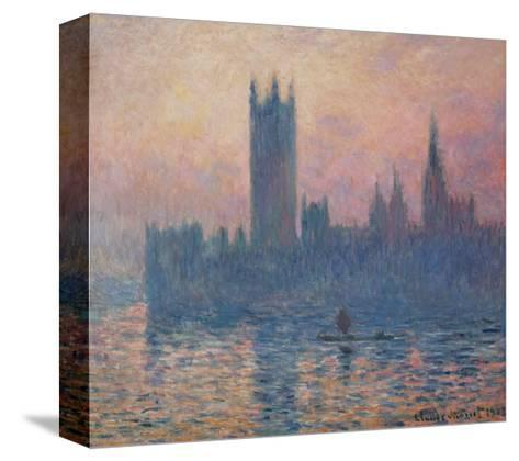 The Houses of Parliament, Sunset, 1903-Claude Monet-Stretched Canvas Print