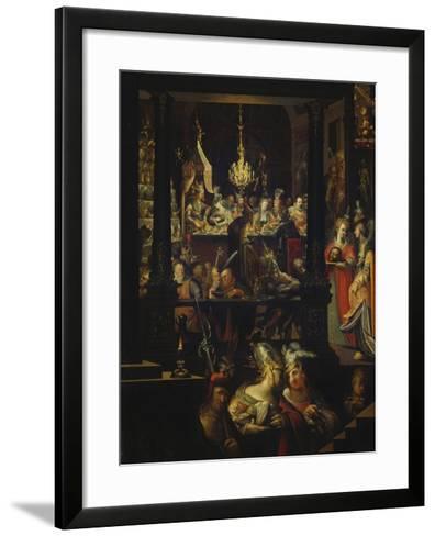 Herod's Feast-Bartholomaeus Strobel-Framed Art Print