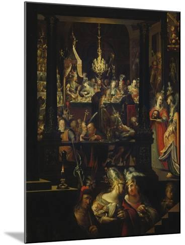 Herod's Feast-Bartholomaeus Strobel-Mounted Giclee Print
