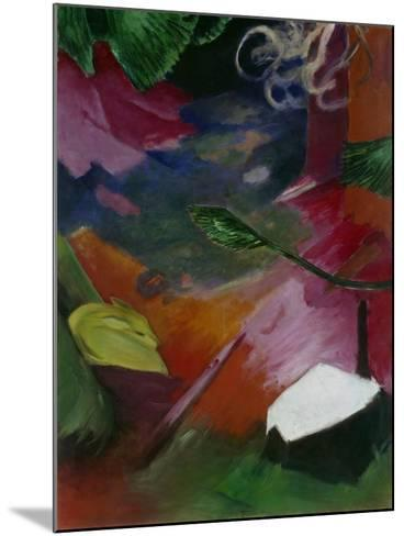 Dear in the Forest I, 1911-Franz Marc-Mounted Giclee Print