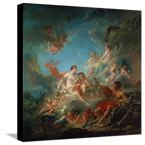 Vulkan Ueberreicht Venus Die Waffen Fuer Aeneas-Francois Boucher-Stretched Canvas Print