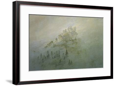 Foggy Morning in the Mountains-Caspar David Friedrich-Framed Art Print
