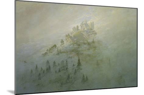 Foggy Morning in the Mountains-Caspar David Friedrich-Mounted Giclee Print