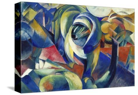 The Mandrill, 1913-Franz Marc-Stretched Canvas Print