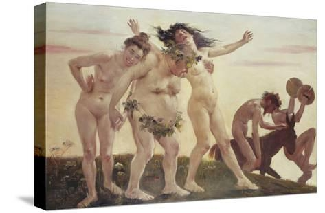 Home-Coming Bacchants, 1898-Lovis Corinth-Stretched Canvas Print