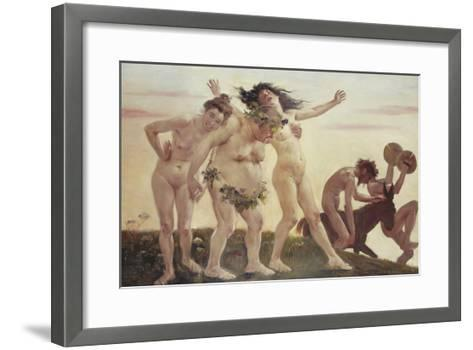Home-Coming Bacchants, 1898-Lovis Corinth-Framed Art Print