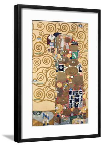 Die Erfuellung Um 1909 Werkvorlage Zum Stocletfries-Gustav Klimt-Framed Art Print