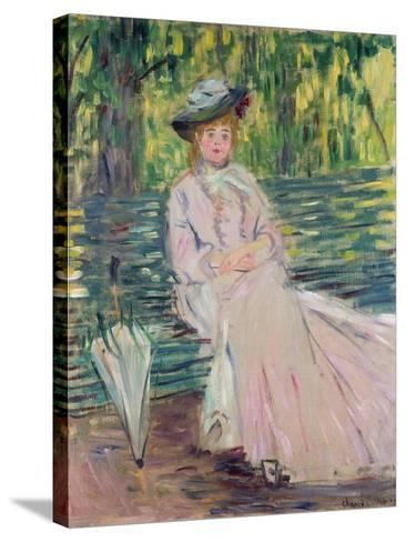 In the Park, 1878-Claude Monet-Stretched Canvas Print