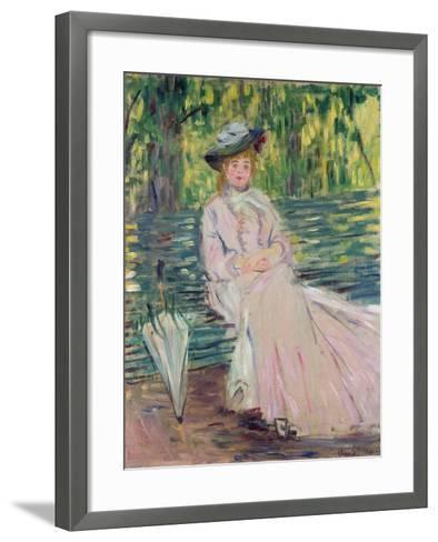 In the Park, 1878-Claude Monet-Framed Art Print