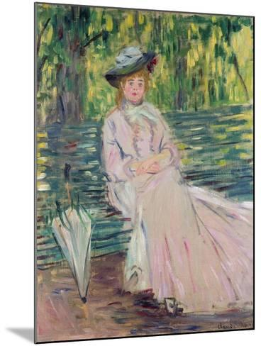 In the Park, 1878-Claude Monet-Mounted Giclee Print