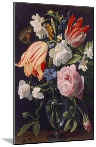 Vase with Flowers, 1637-Daniel Seghers-Mounted Giclee Print