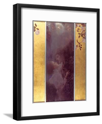 Love, 1895-Gustav Klimt-Framed Art Print