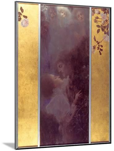 Love, 1895-Gustav Klimt-Mounted Giclee Print