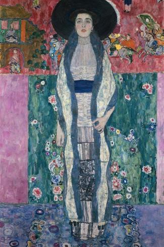 Bildnis Adele Bloch-Bauer Ii, 1912-Gustav Klimt-Stretched Canvas Print