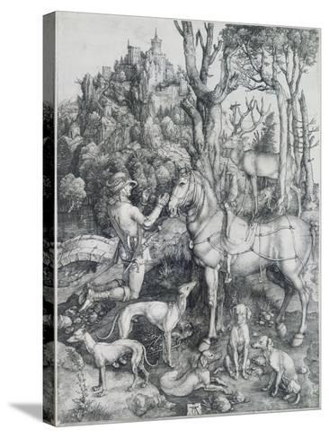 Saint Eustache-Albrecht D?rer-Stretched Canvas Print