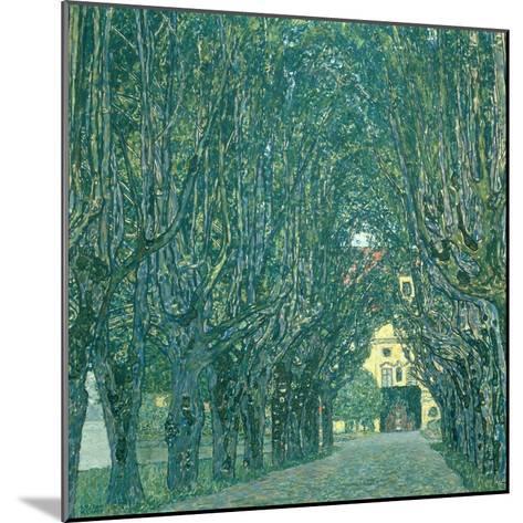 Avenue in the Park of Schloss Kammer, 1912-Gustav Klimt-Mounted Giclee Print