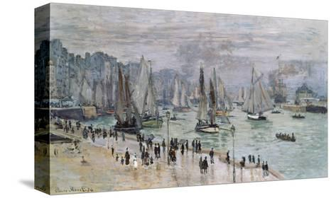 Port De Mer (Le Havre), 1874-Claude Monet-Stretched Canvas Print