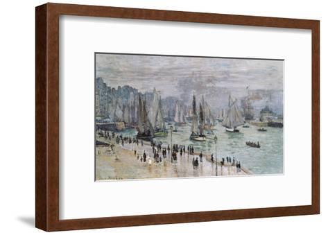 Port De Mer (Le Havre), 1874-Claude Monet-Framed Art Print