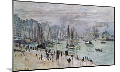 Port De Mer (Le Havre), 1874-Claude Monet-Mounted Giclee Print