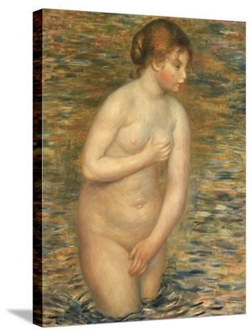 Nude in the Water, 1888-Pierre-Auguste Renoir-Stretched Canvas Print