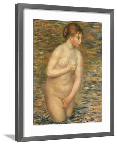 Nude in the Water, 1888-Pierre-Auguste Renoir-Framed Art Print