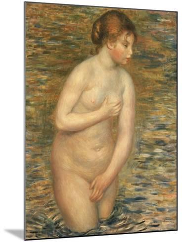 Nude in the Water, 1888-Pierre-Auguste Renoir-Mounted Giclee Print
