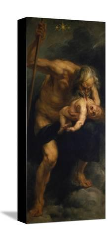 Saturn Verschlingt Eines Seiner Kinder, 1636/1638-Peter Paul Rubens-Stretched Canvas Print