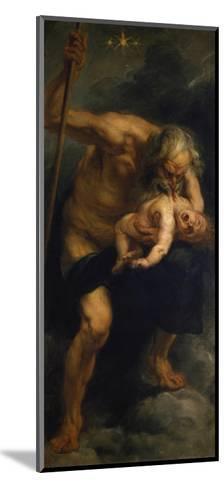 Saturn Verschlingt Eines Seiner Kinder, 1636/1638-Peter Paul Rubens-Mounted Giclee Print