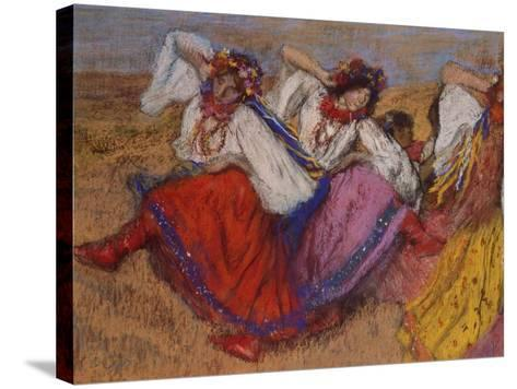 Russian Dancers, about 1895-Edgar Degas-Stretched Canvas Print