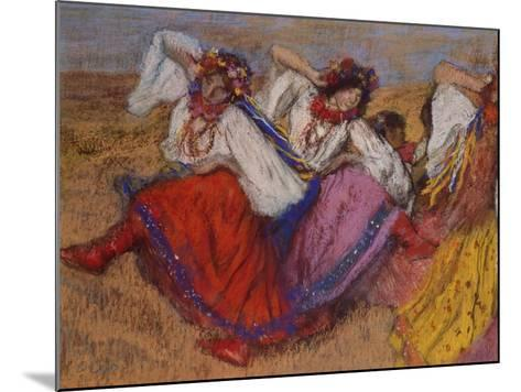 Russian Dancers, about 1895-Edgar Degas-Mounted Giclee Print