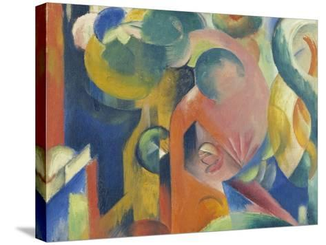 Small Composition Iii, 1913/1914-Franz Marc-Stretched Canvas Print