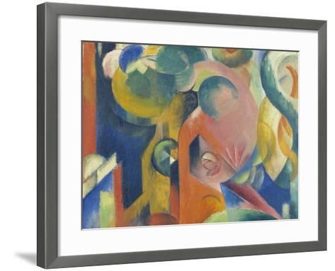 Small Composition Iii, 1913/1914-Franz Marc-Framed Art Print