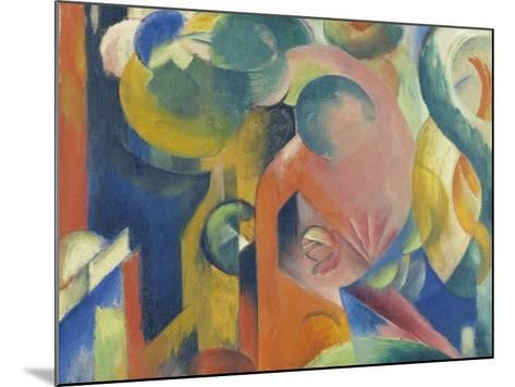 Small Composition Iii, 1913/1914-Franz Marc-Mounted Giclee Print