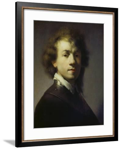 Self Portrait, about 1629-Rembrandt van Rijn-Framed Art Print
