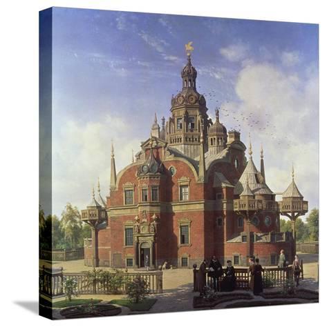 Tycho Brahe's Observatory, Uraniborg-Henrik Hansen-Stretched Canvas Print